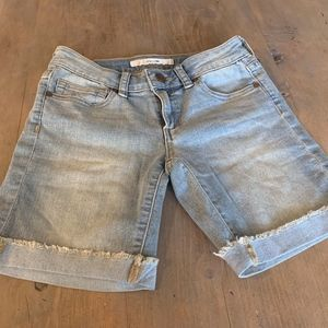 Joe's girls skinny shorts